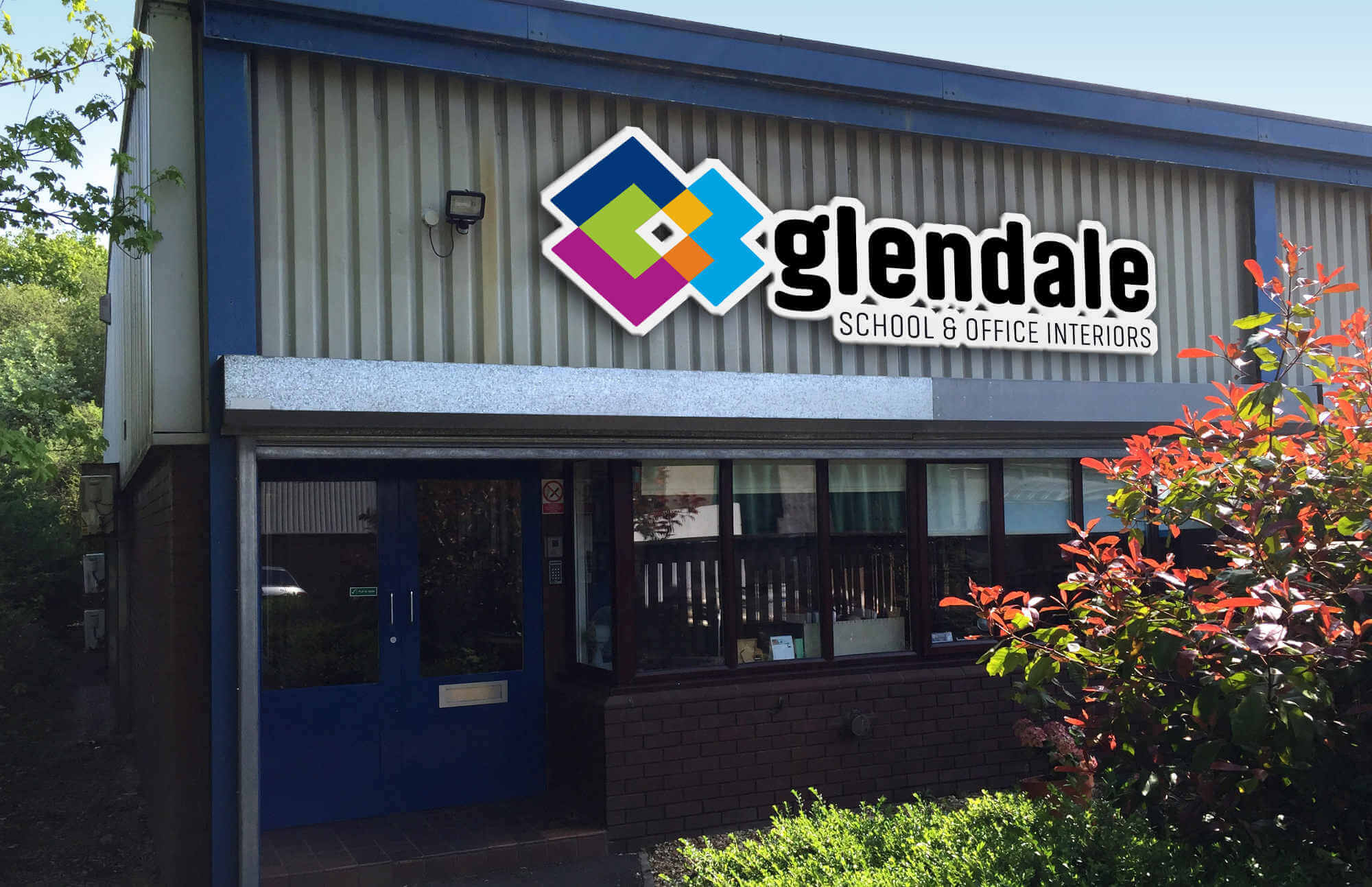 Glendale UK Office Signage