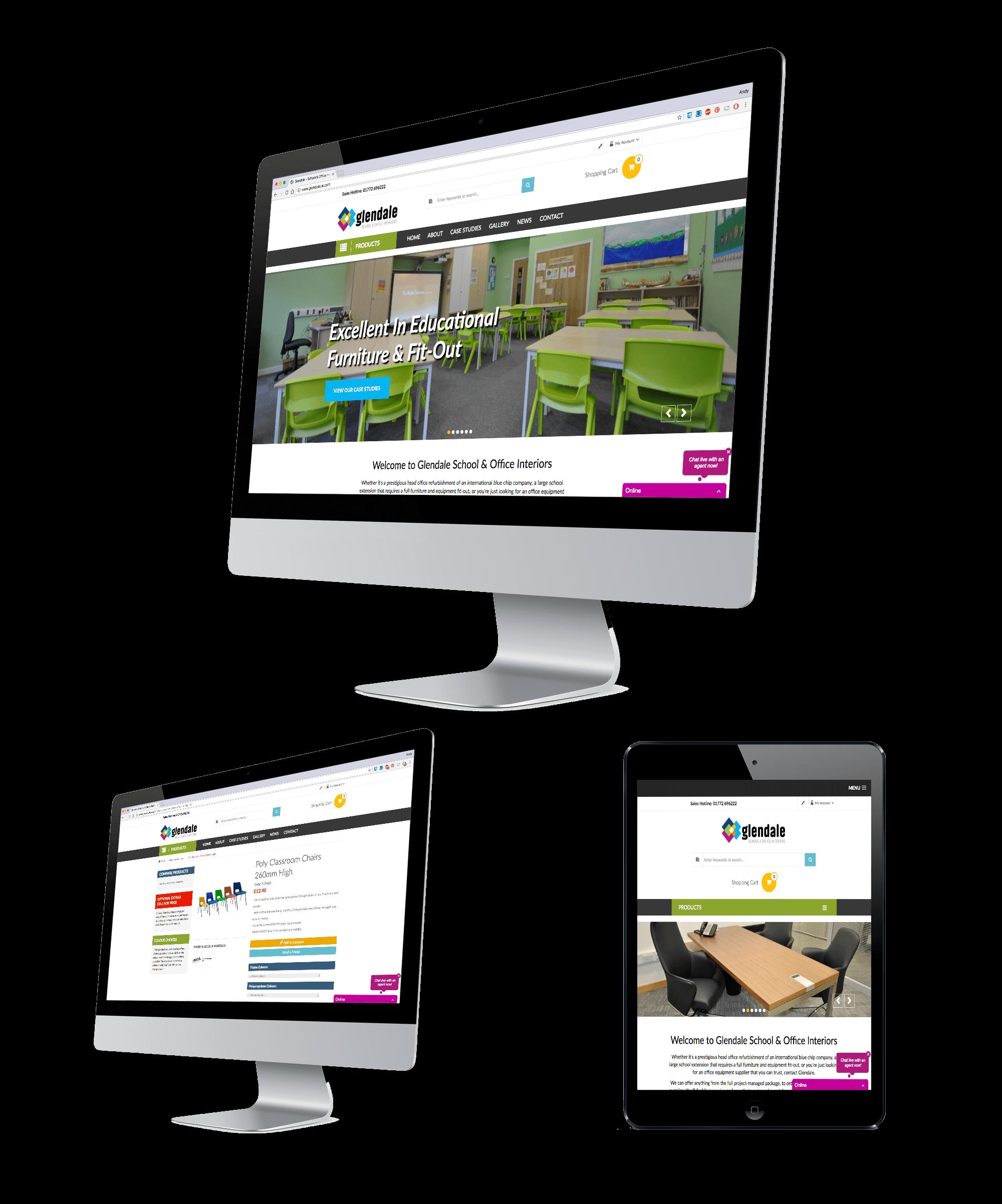Glendale School & Office Interiors Webstie